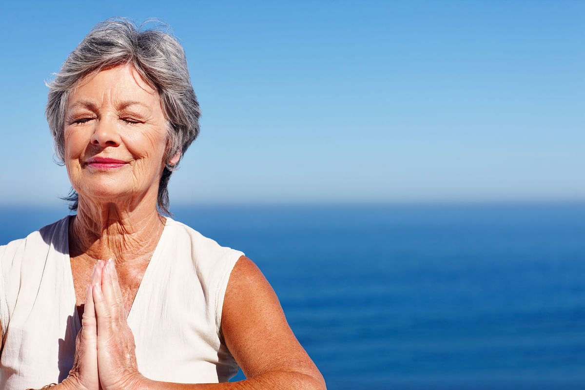 You can do yoga at any age, really! It's just a matter of picking what type of yoga you do and working within your abilities. (Photo: iStock)