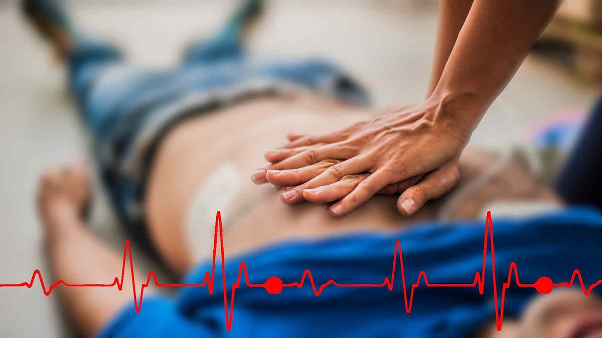 50 percent of all cardiac arrest-related deaths are preventable with some basic first aid.