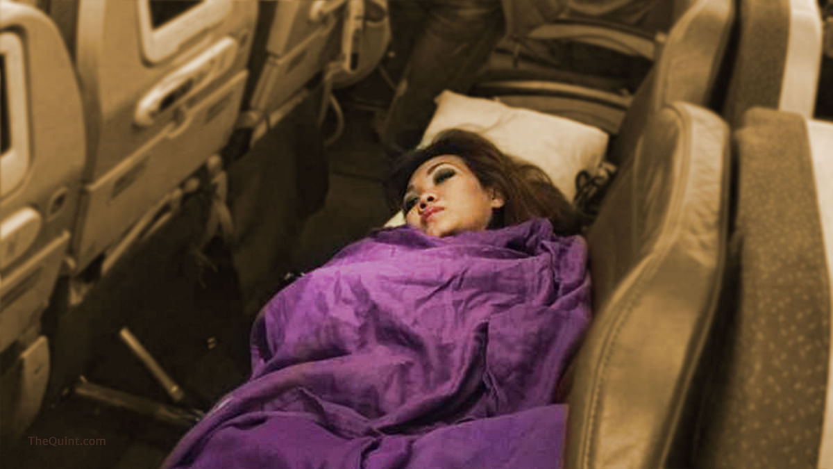 Air hostess who fell unconscious while on a flight to Kuala Lampur from Auckland (Photo Courtesy: <b>The Quint</b>)