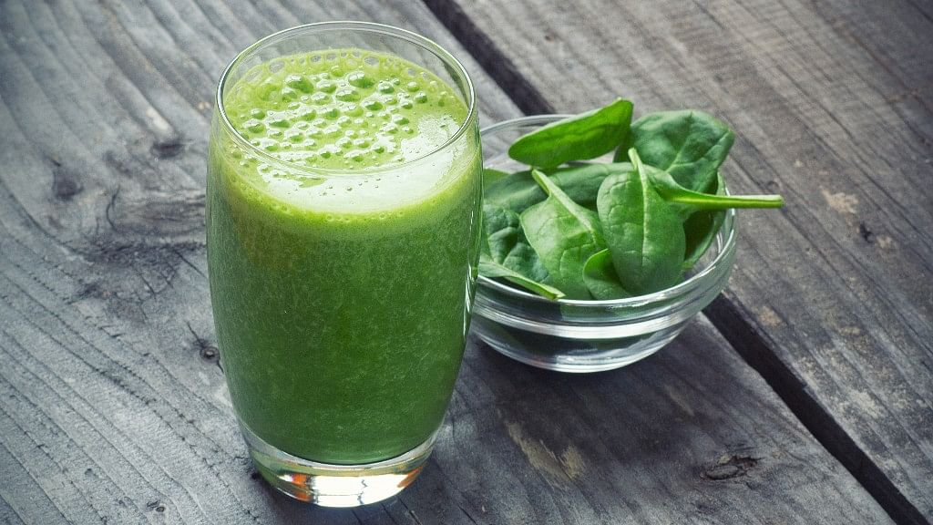 Spinach smoothie is the secret to a fitter, healthier body.