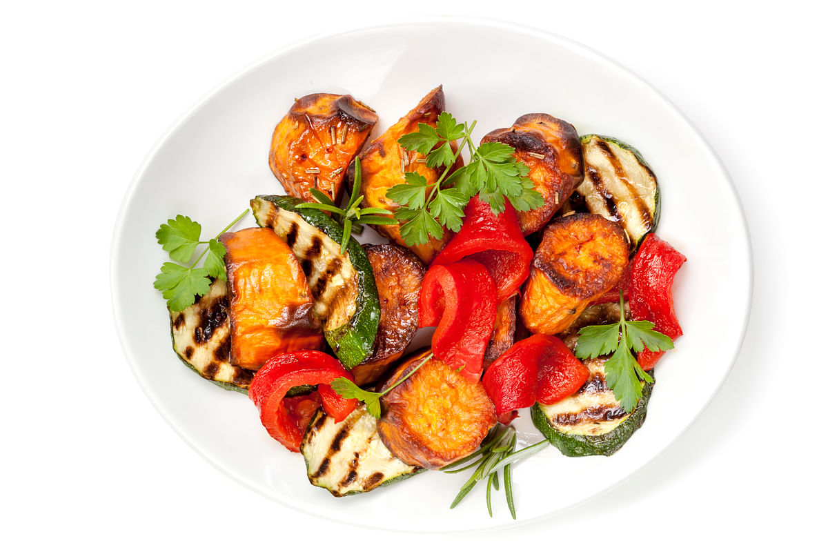 One medium sweet potato provides your body with the complete recommended daily allowance of vitamin A and then some.