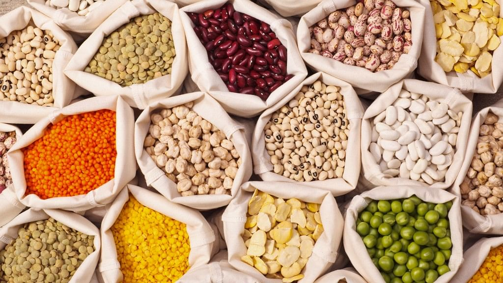 Pulses, legume, jowar, bajra all offer quality protein.