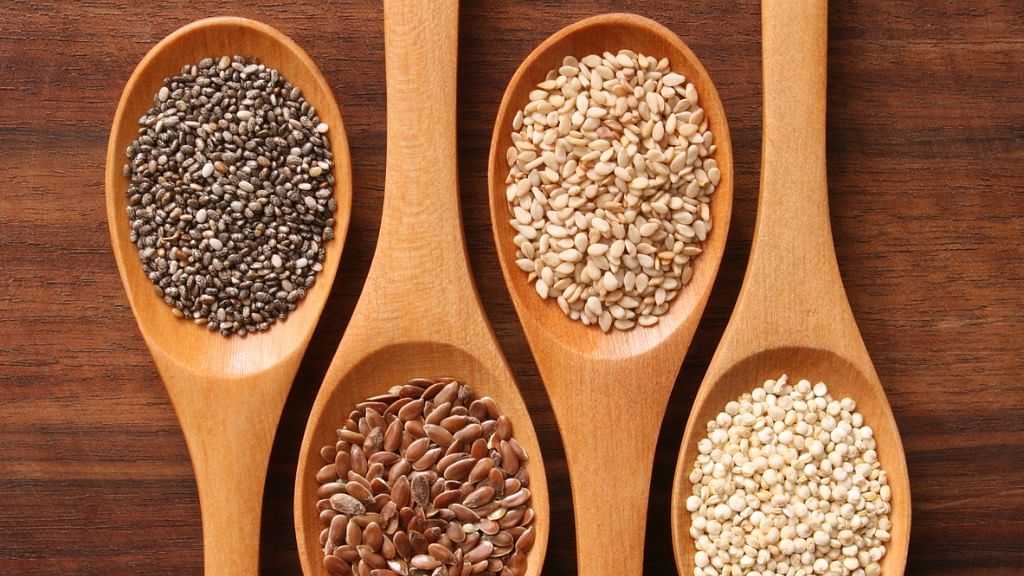 Seeds are great for the body.