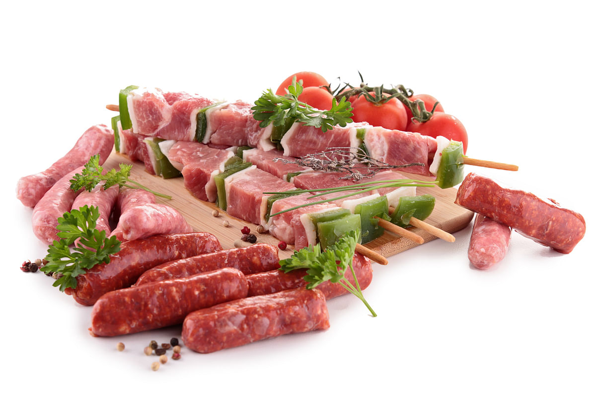 Red meat is loaded with iron.
