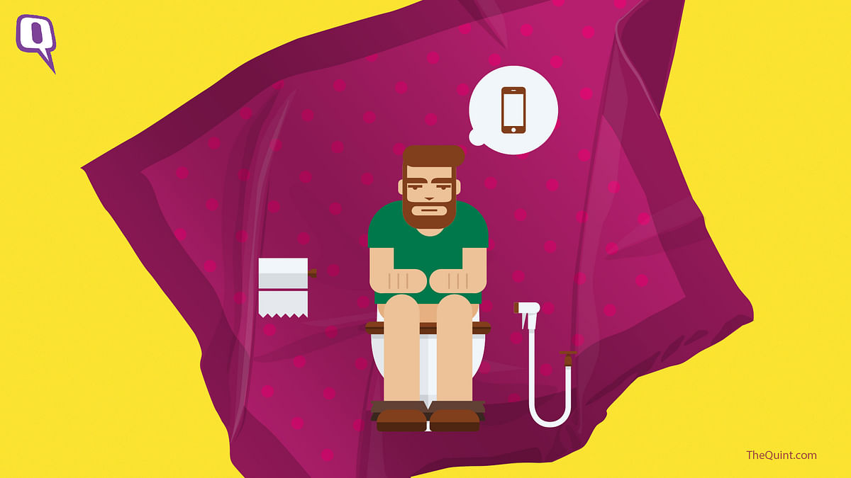 Everyday habits like taking your phone to the loo can make you sick.