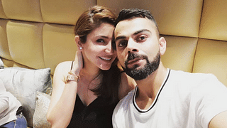 Virat Kohli And Anushka Sharma Catch Up With Family For