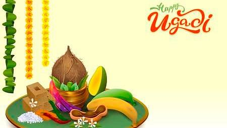 happy ugadi wishes images kannada telugu new year quotes