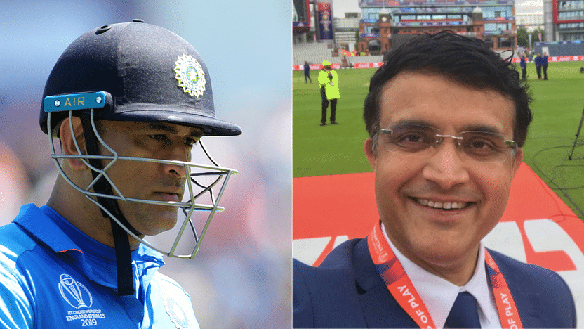 Sourav Ganguly Refuses to Comment on Dhoni's Omission From BCCI ...
