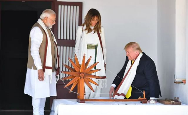 All About Melania Trump's White Jumpsuit For India Visit