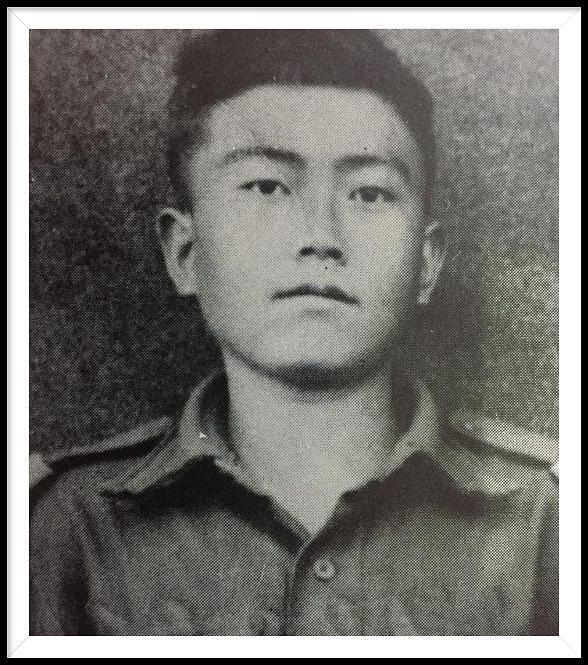 Rifleman Debi Prasad Limbu who fought at the Cho La battle.
