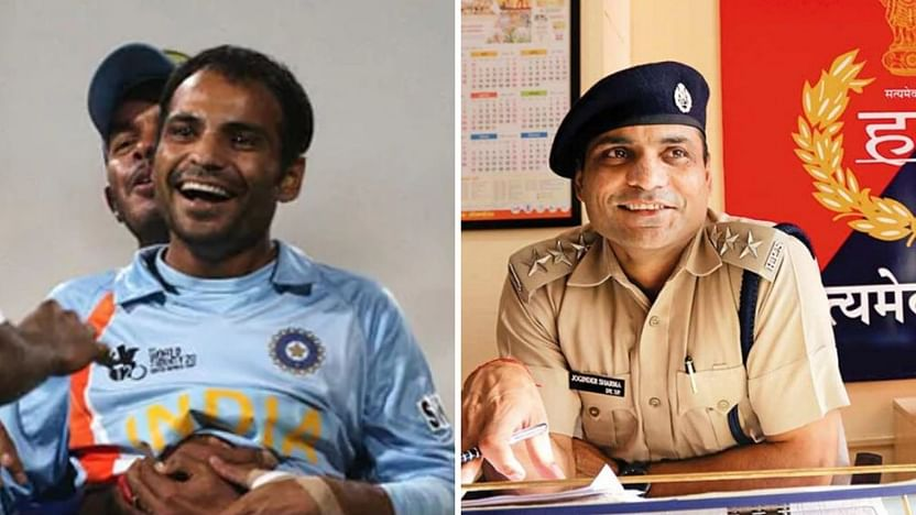 ICC lauds cricketer-turned cop Joginder Sharma for doing his bit ...