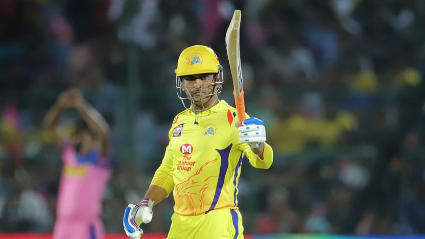 Watch video: IPL 2020: Dhoni Sounds Warning Bell, Smashes 5 Sixes ...
