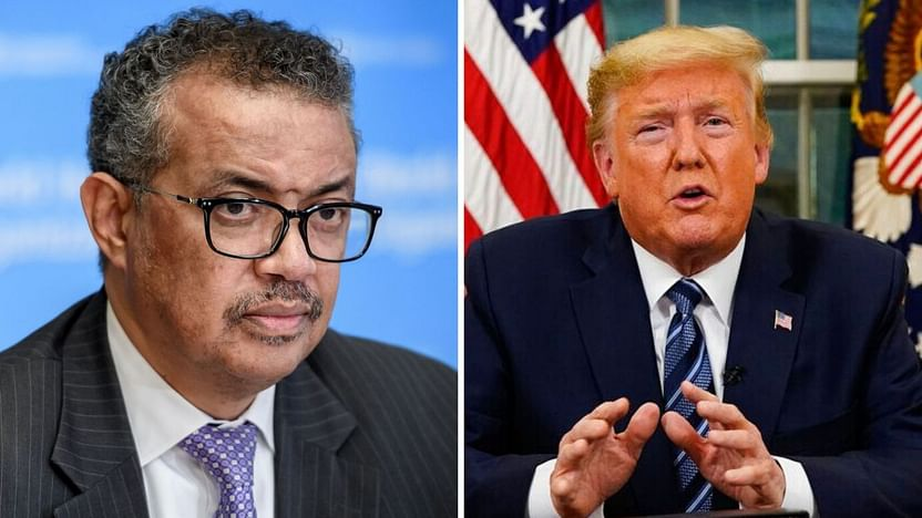 Don't Politicise,' Says WHO Chief as Trump Continues His Tirade