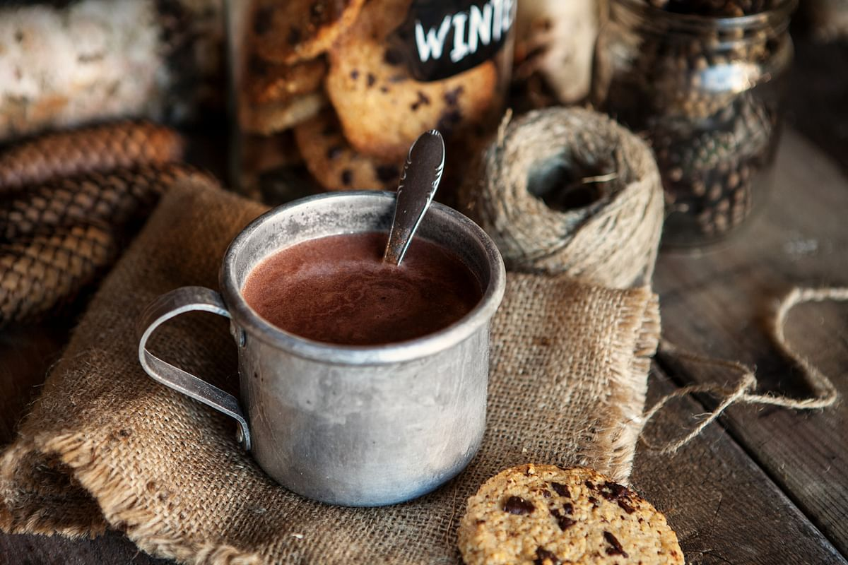 Hot chocolate is one of the best comfort foods ever.