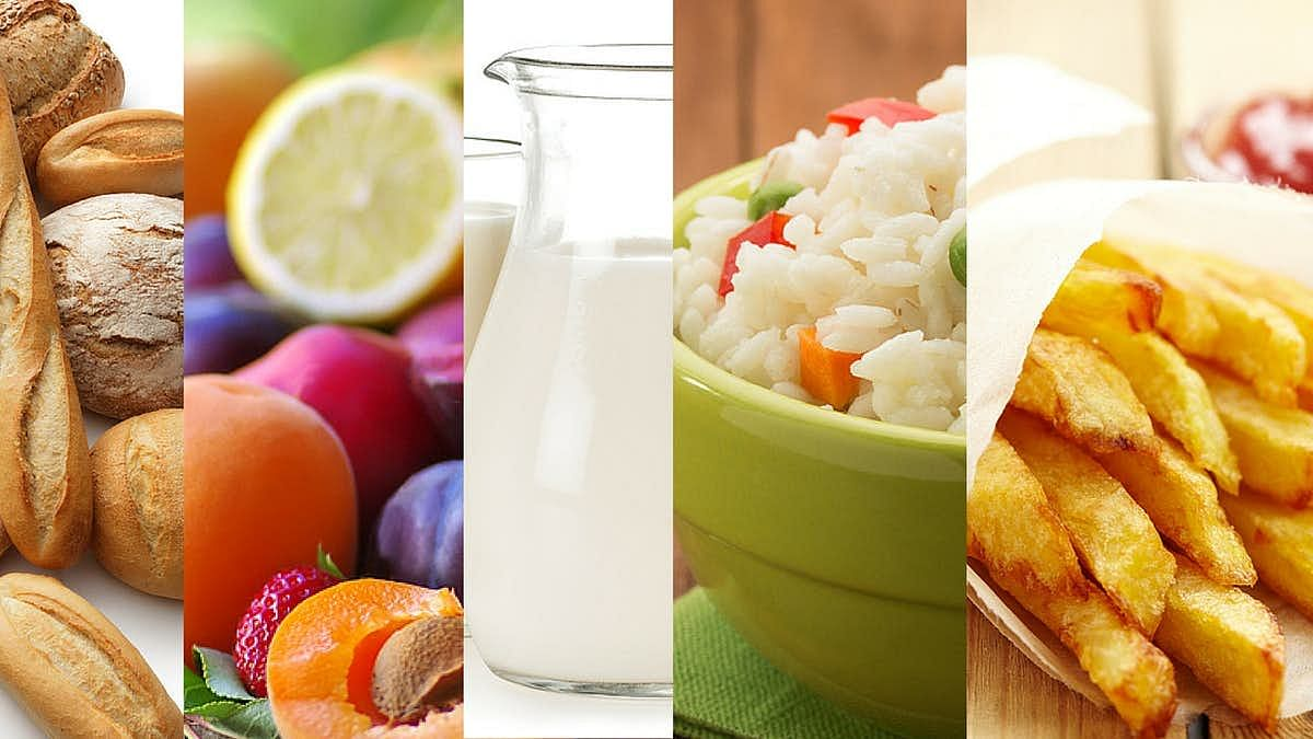 Bread, fruits, milk, rice, and potato are some of the things to be avoided in a keto diet.