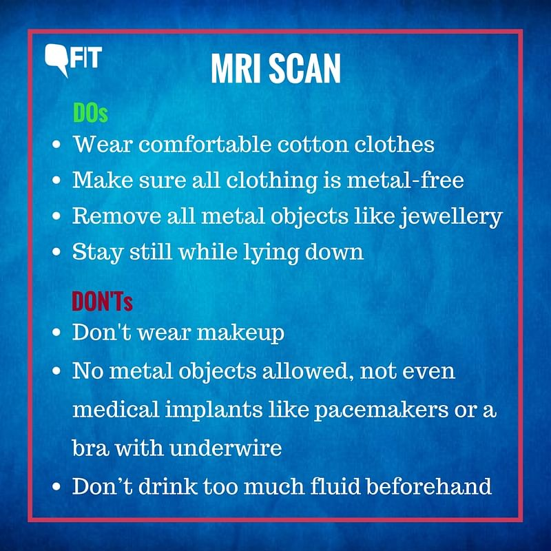 Going for an MRI, CT Scan Or X-Ray? Here Are Some DOs & DON'Ts