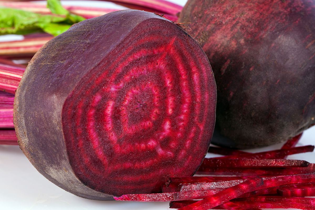 Beetroot helps significantly lower the blood pressure.