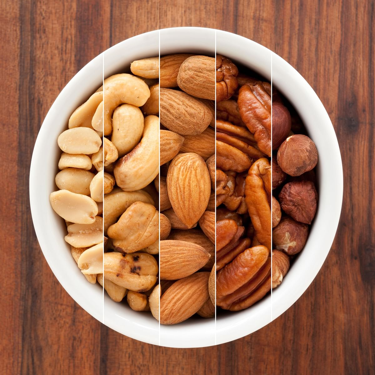 Cashews and almonds are full of zinc.