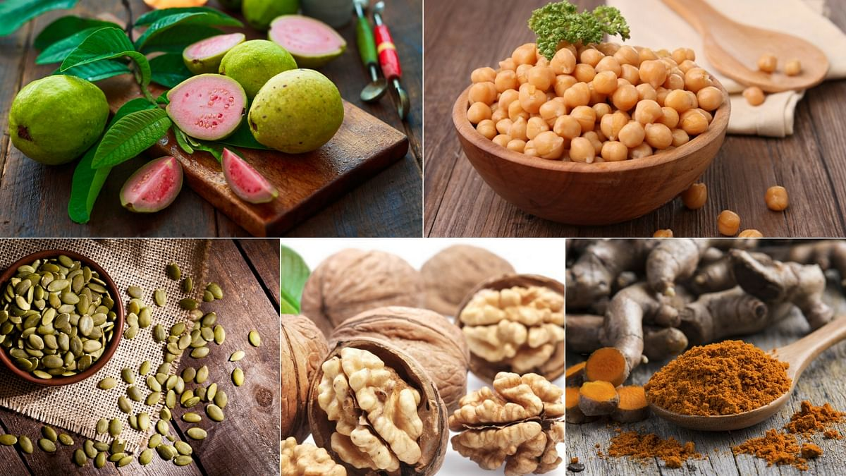 Nuts, berries and fresh fruits and vegetables in general are good options.