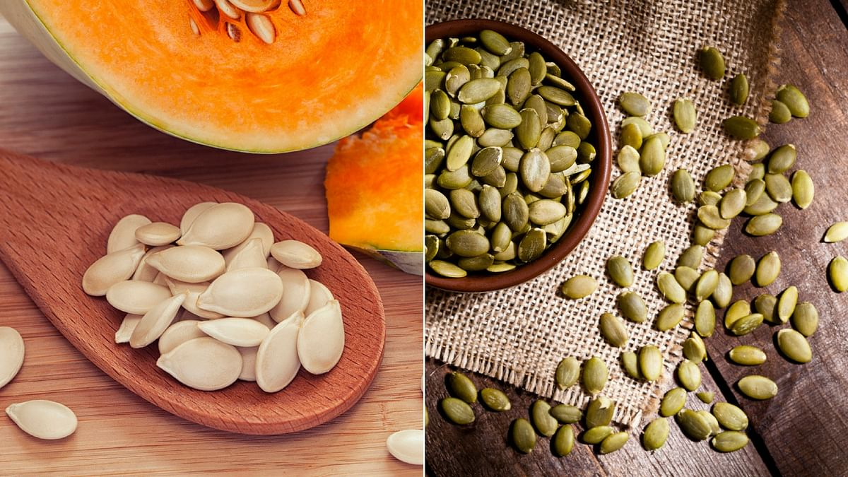 Besides iron and magnesium, pumpkin seeds deliver a lot of zinc, whose influence on mood is very well known.