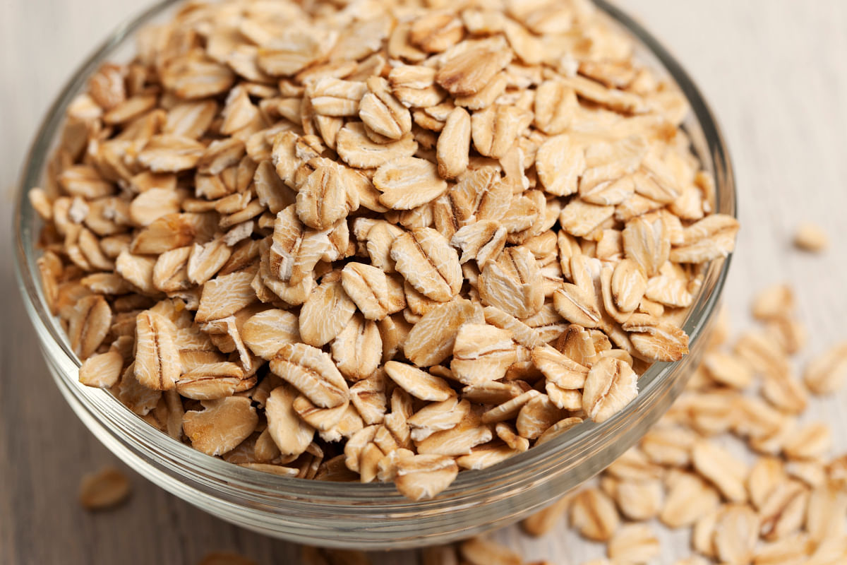 Oats are an excellent muscle recovery food.