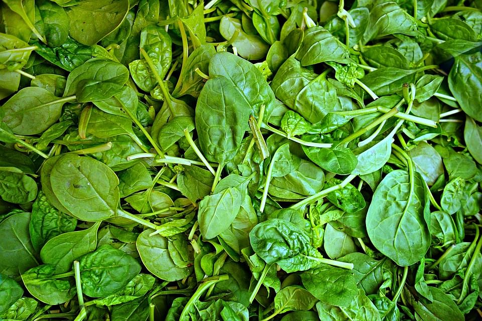Spinach is high in arginine that helps initiate and maintain erections.