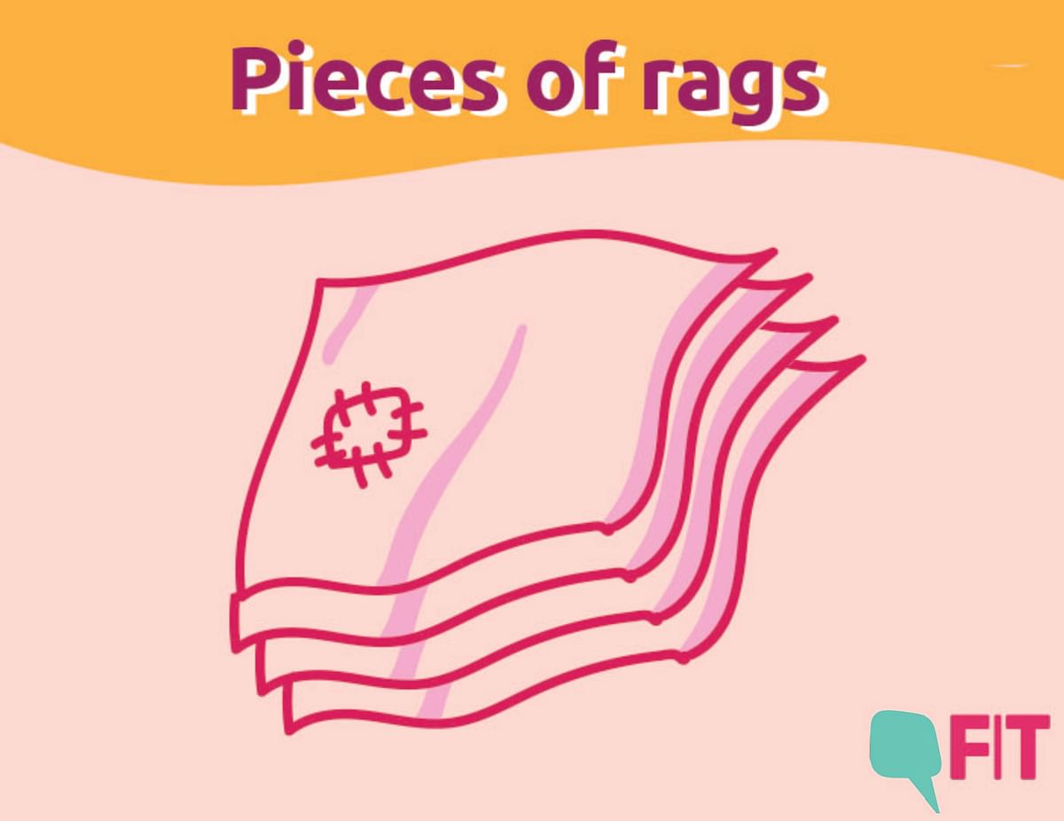 One of the first few documented evidence of the usage of the rags during menstruation goes back to Ancient Greece.