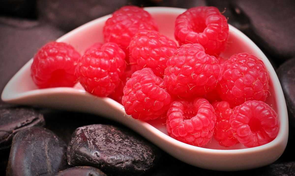 Raspberry packs a punch with its antioxidant power.