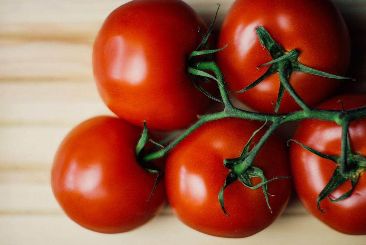 Tomatoes are loaded with lycopene which are linked with reduction of heart diseases.