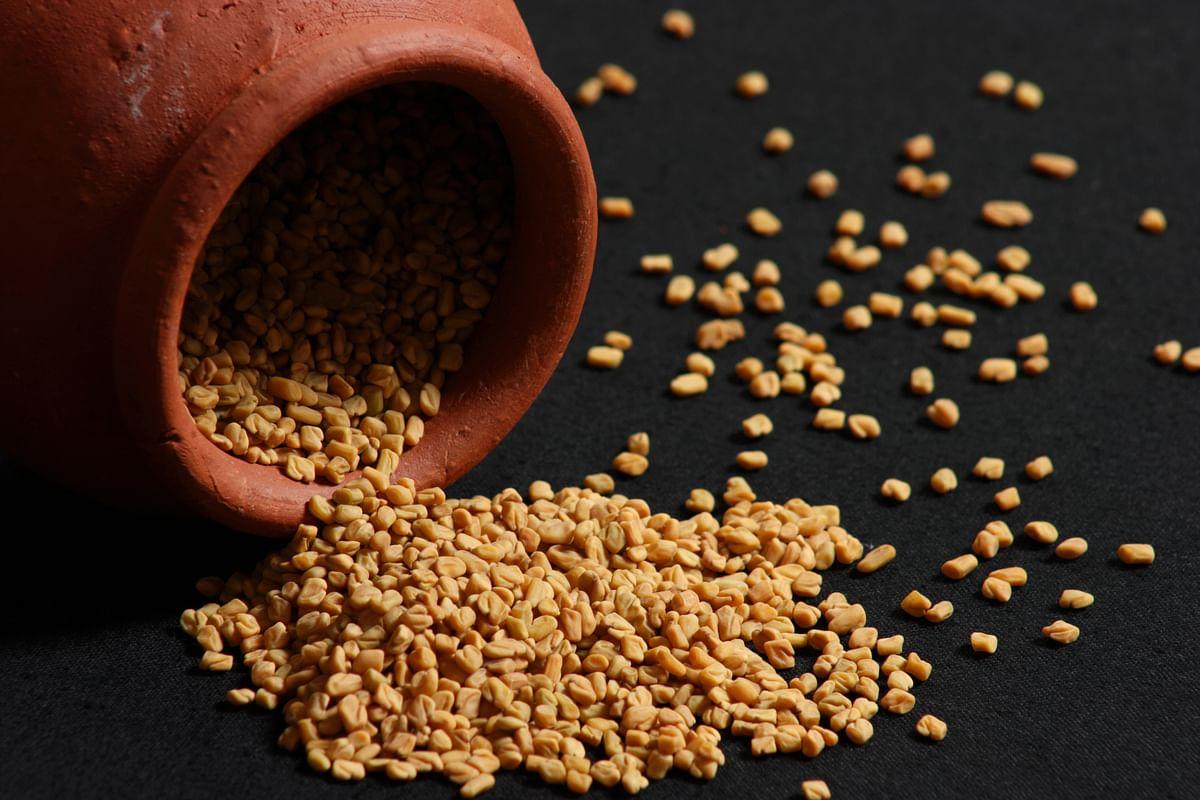 Fenugreek seeds help keep the blood sugar levels at bay.