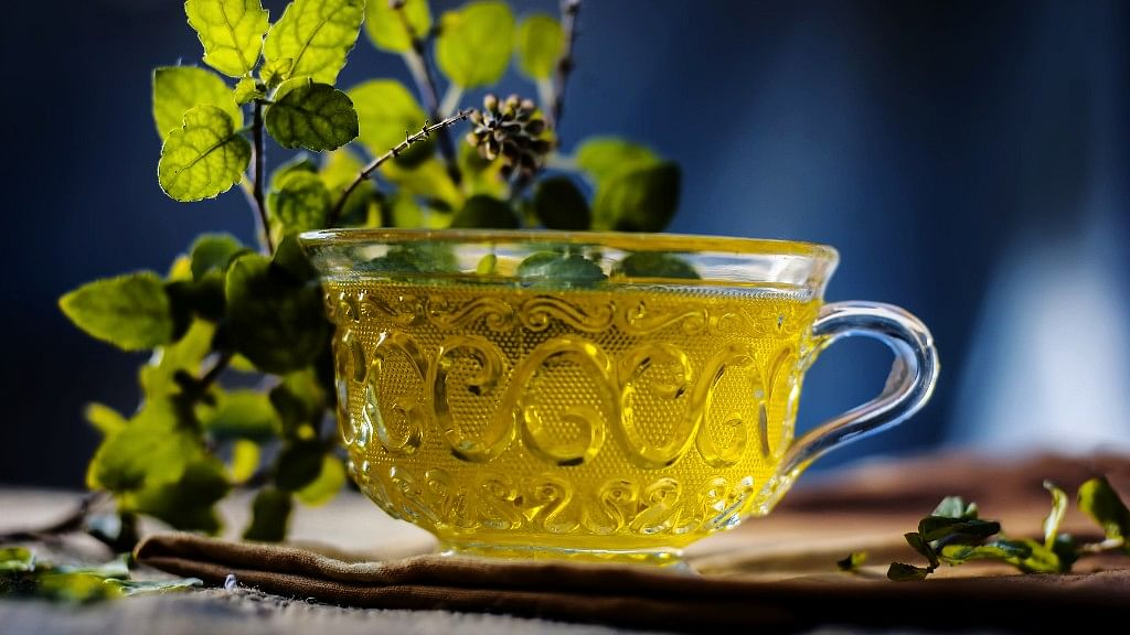 Infusing water with herbs, vegetables and fruits is a common Ayurvedic practice.
