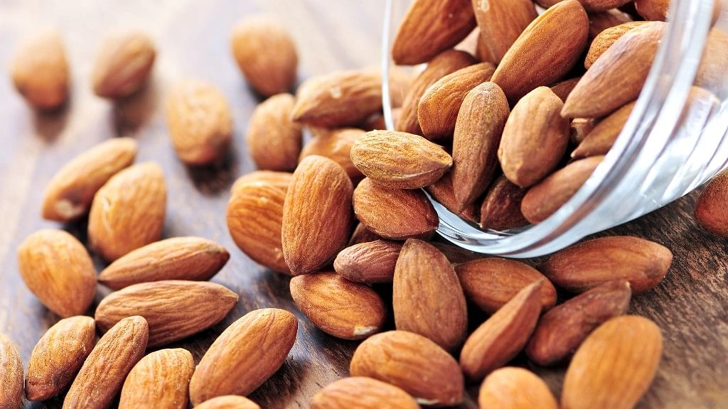 Pop some almonds every morning.<br>