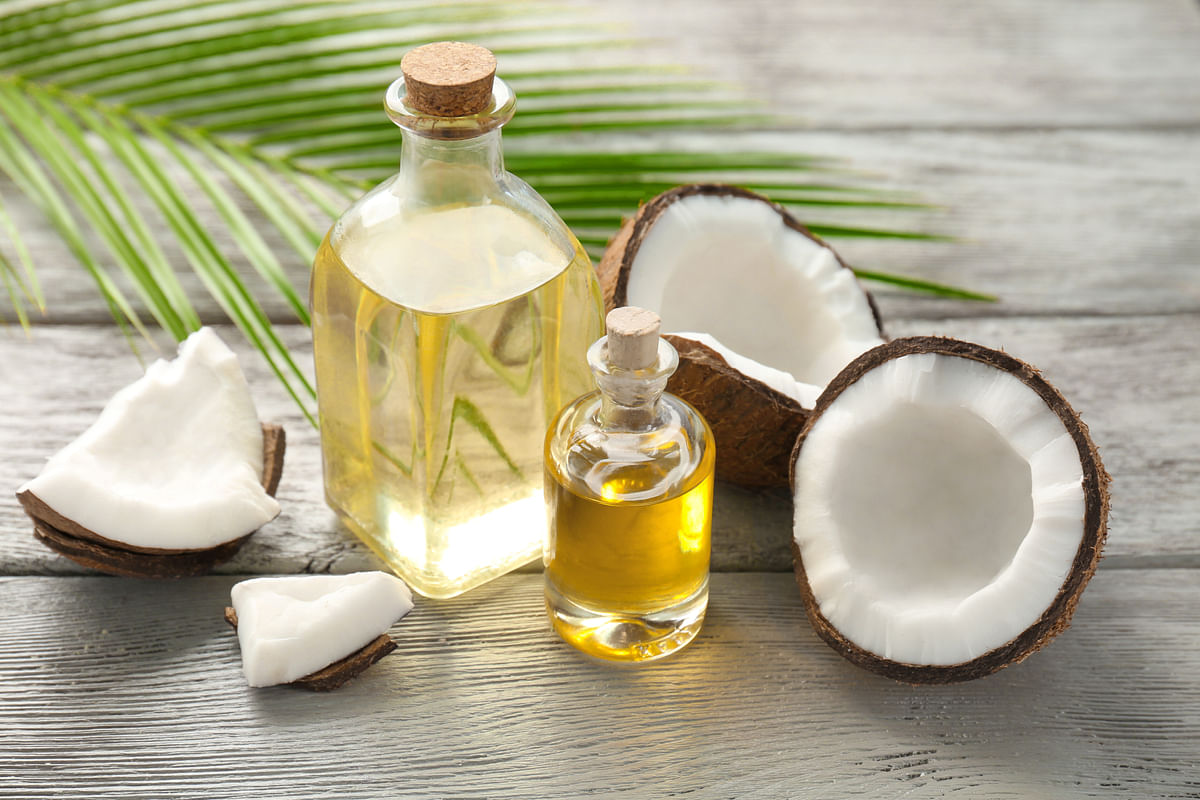 Go nuts with coconuts. Coconut oil is my preferred fat of choice when cooking.