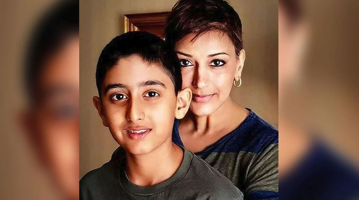 My Son Has Become a Source of Strength & Positivity: Sonali Bendre