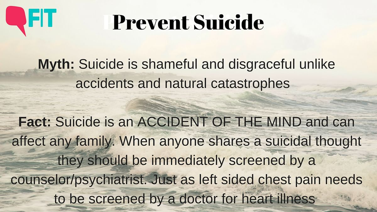 What Do We Know About Suicides? Let's Breakdown Myths vs Facts