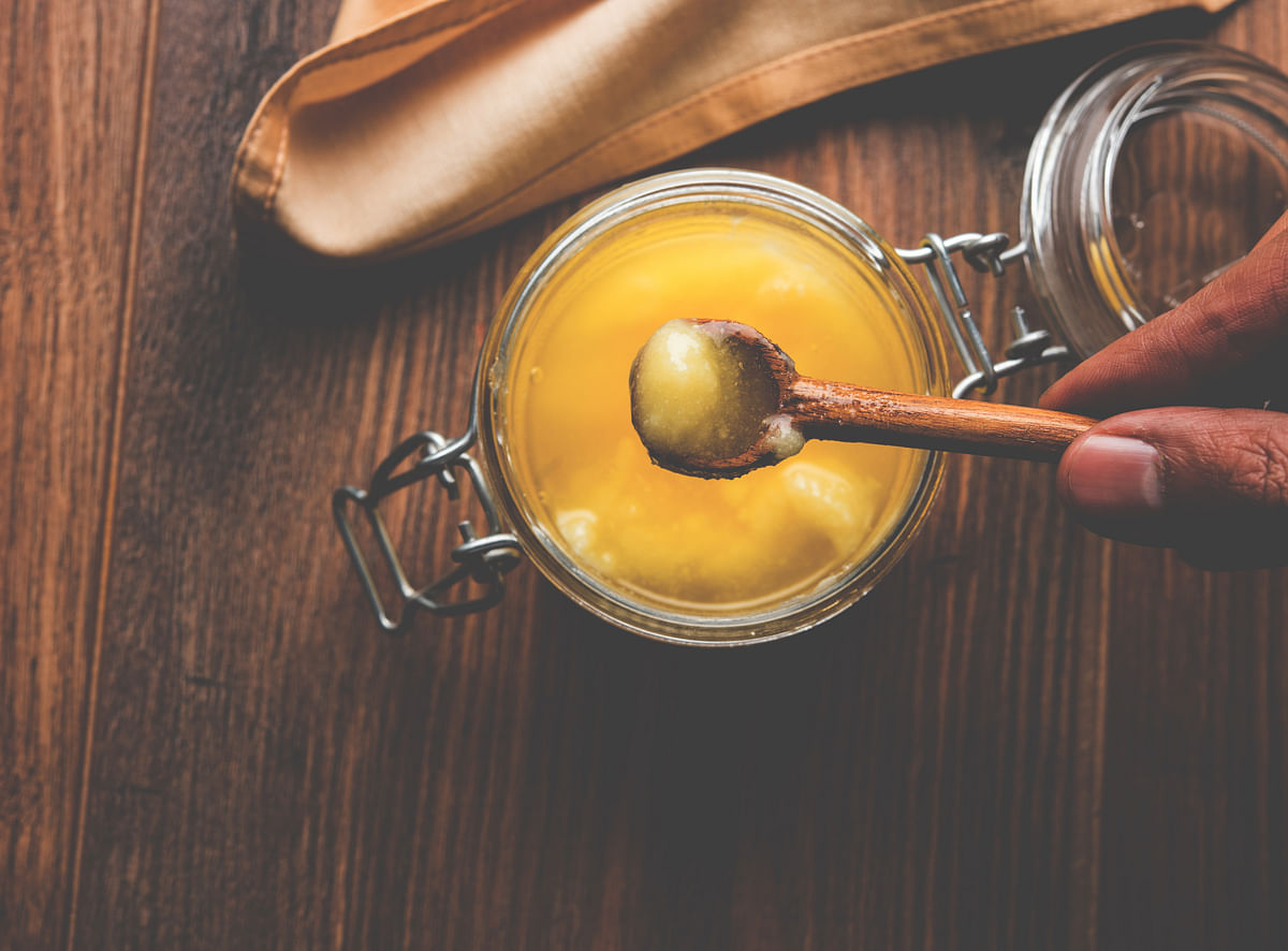 Ghee is actually a great source of healthy fat-soluble vitamins.