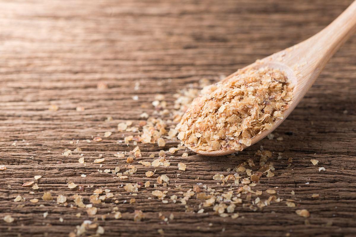 Wheat germ is good for eye health.