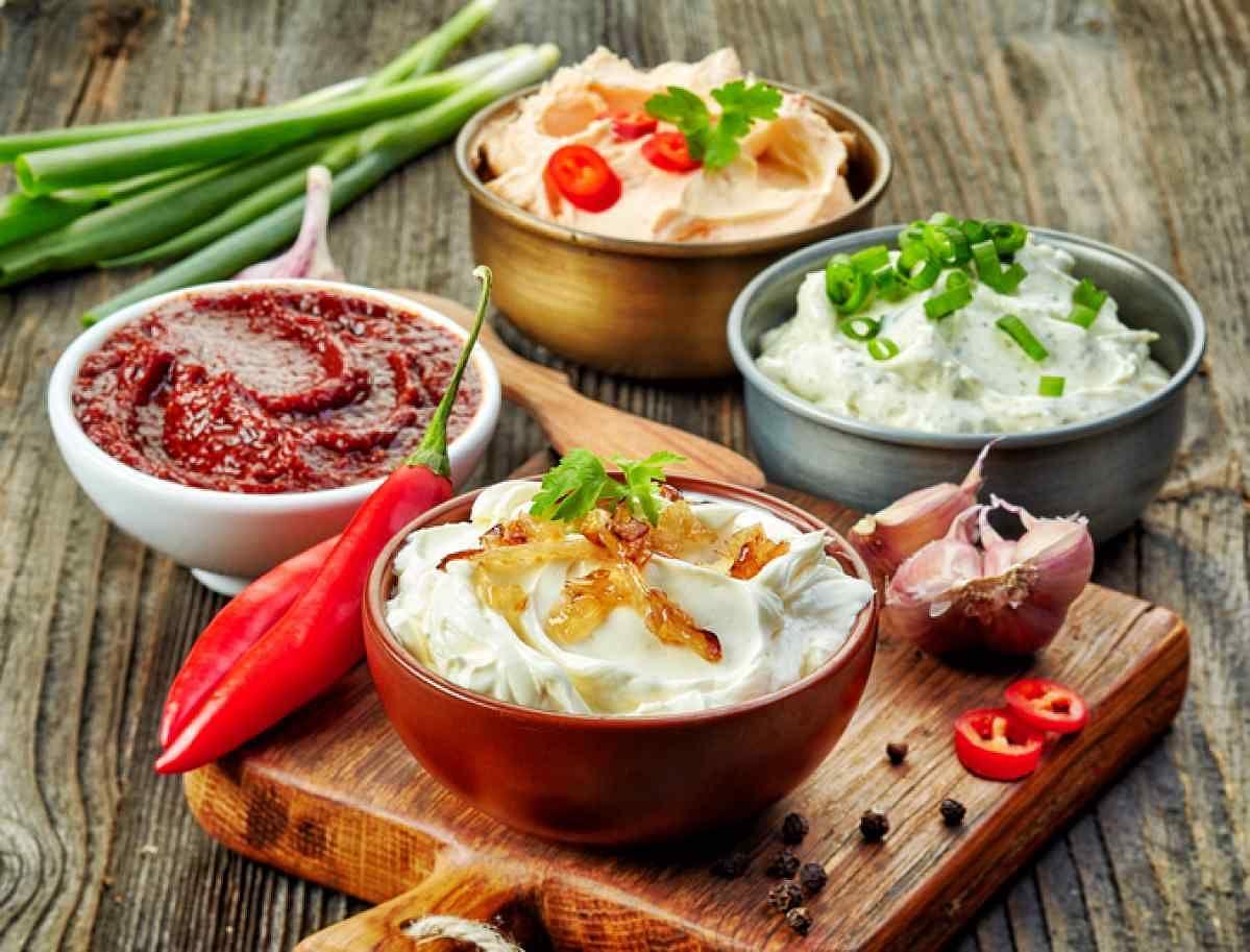 Have dips like hummus, tzatziki, guacamole, various Indian chutneys and serve them vegetable sticks.