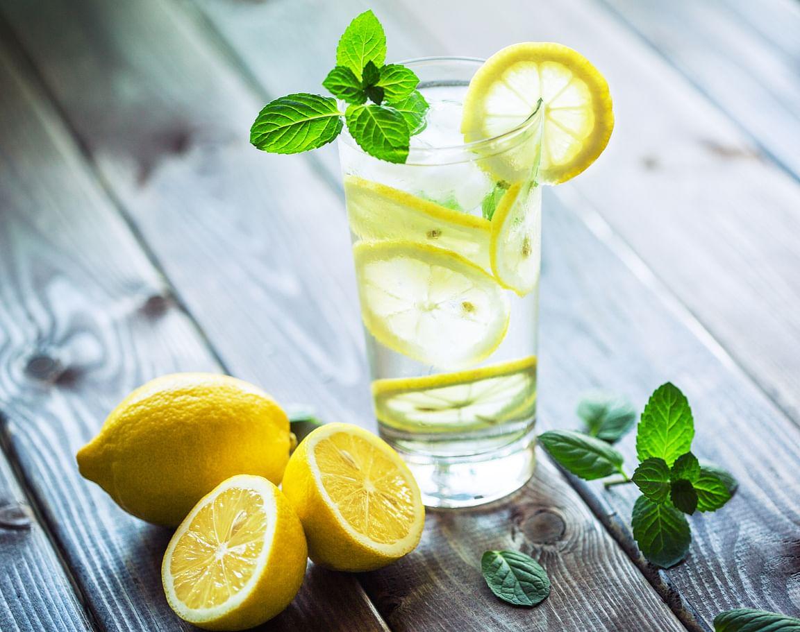 Replace package juices with lemon juice, tender coconut water, kokum juice.