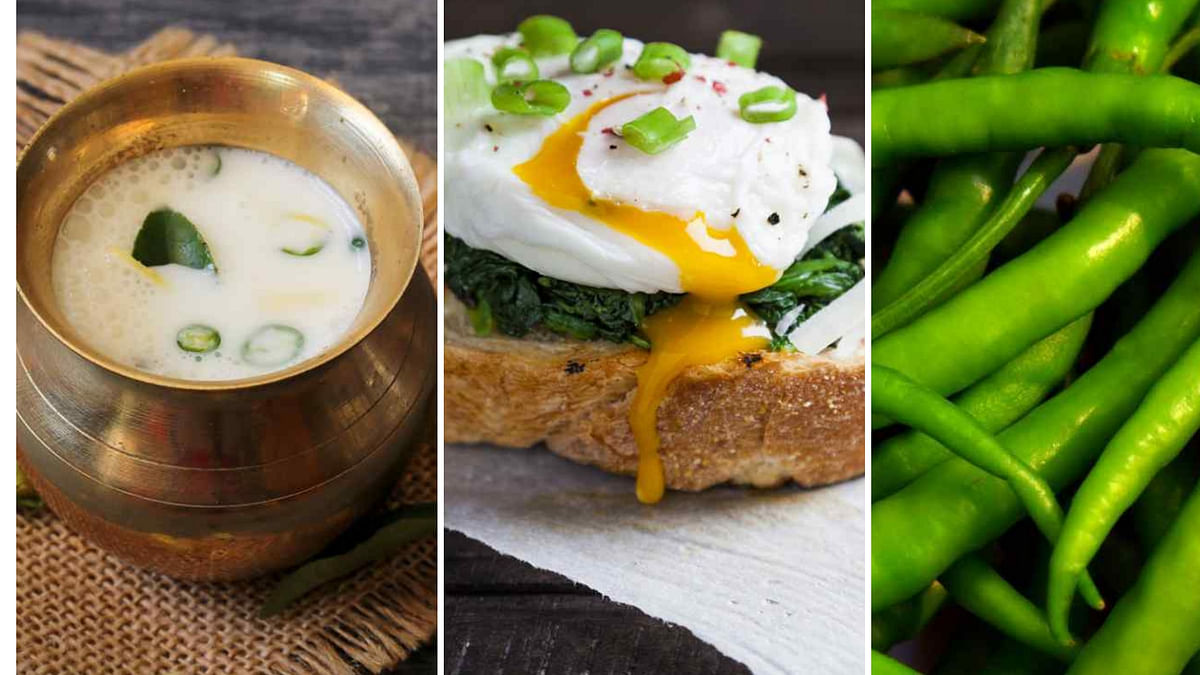 Try these foods to be at the winter blues.