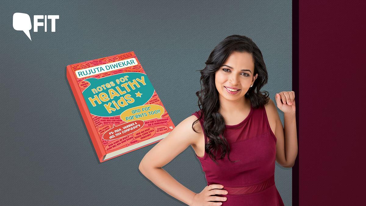 Rujuta Diwekar Offers Easy Tips for Healthier Kids in New Book