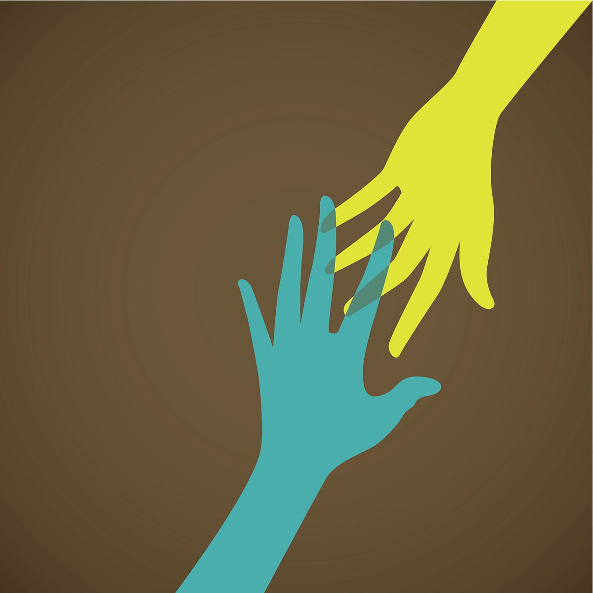 When you extend your support to a bereaved person, you alleviate their stress.