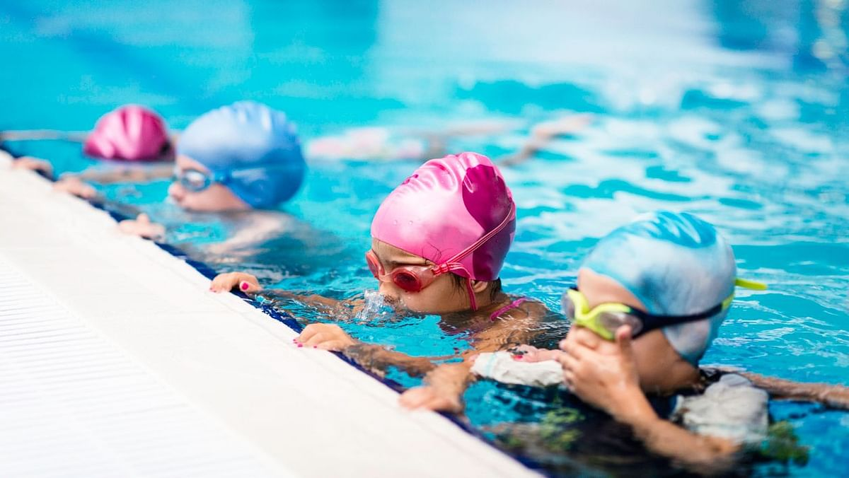 Swimming is a good way other than non-scheduled physical activity.