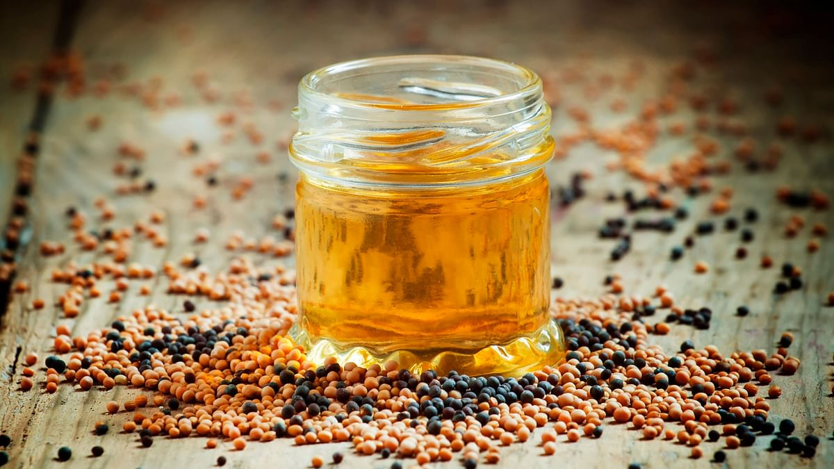 """Mustard oil is a good option for Indians because of its less saturated fat content and easy affordability."""