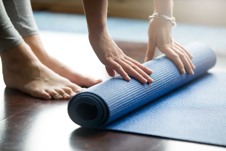 Opt for natural, eco-friendly mats.