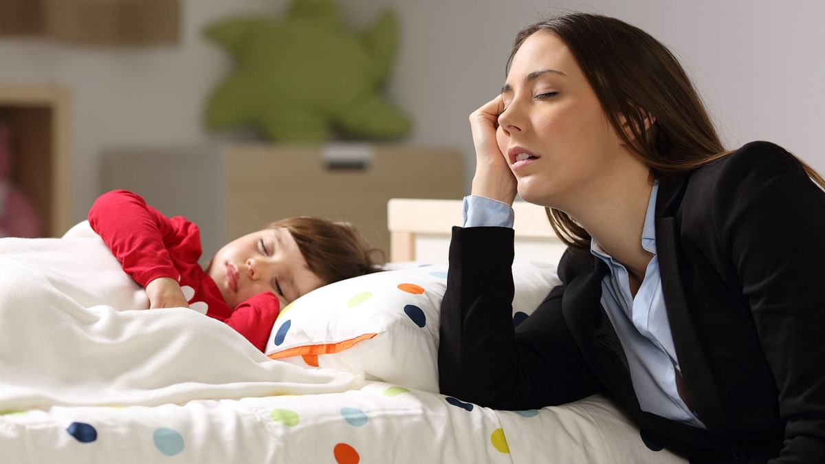 Studies have found that stress is much higher among working women who are also mothers.