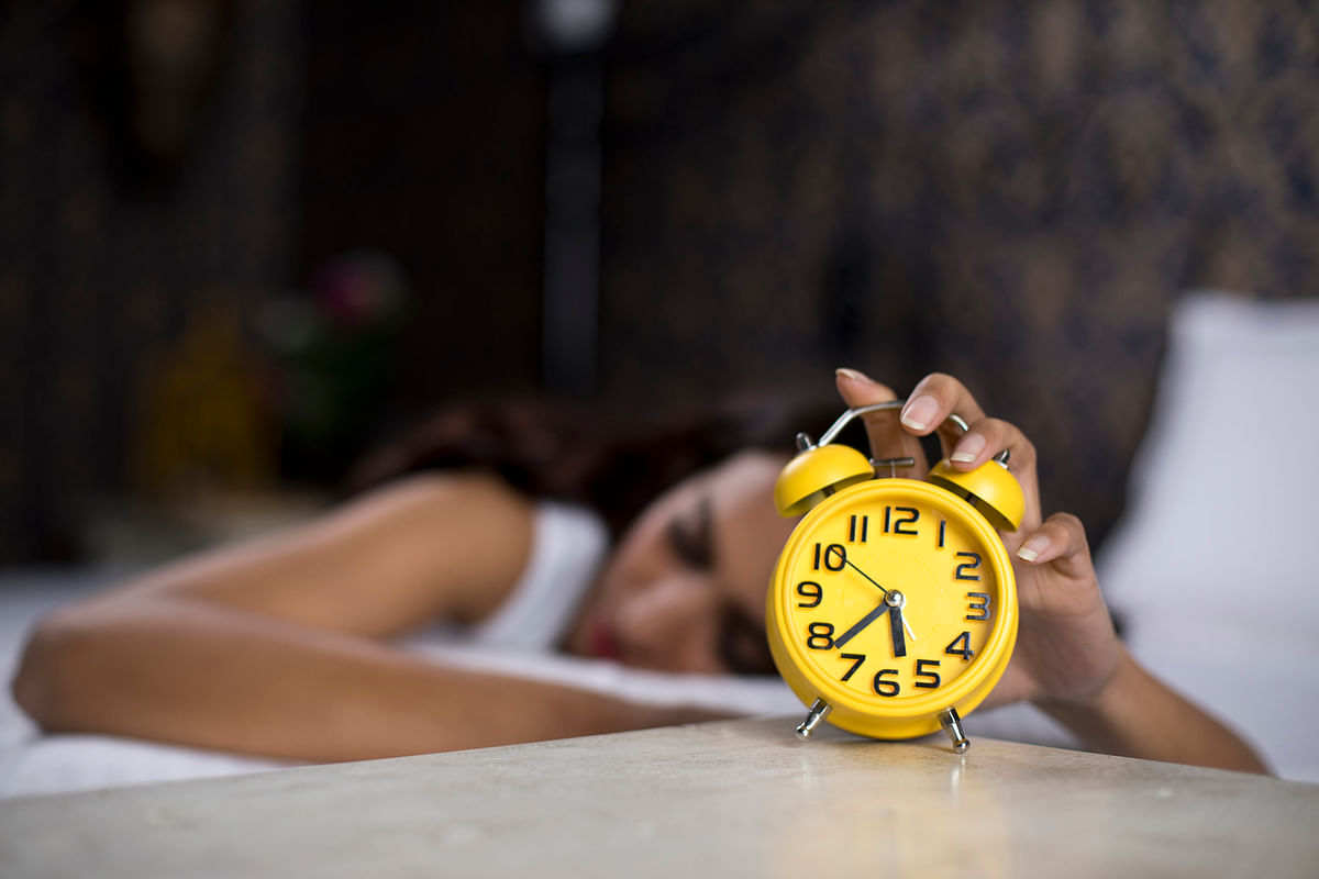 Visualization can make it easier for you to get to sleep by taking you away from your worries.