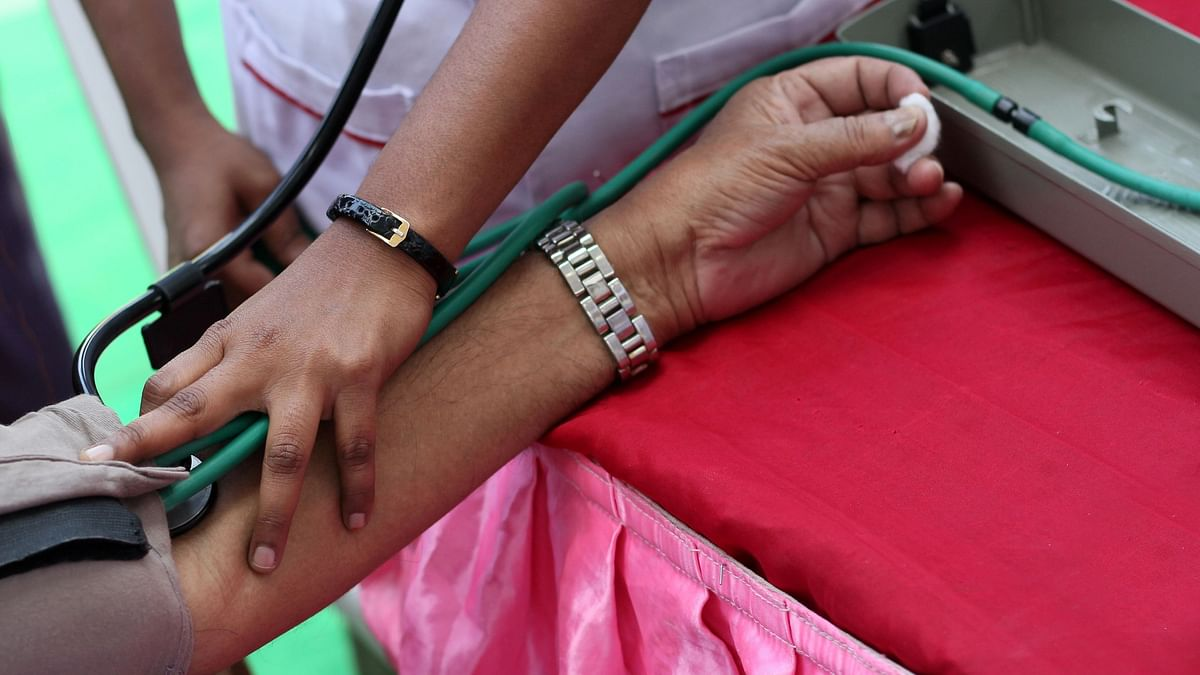 One-fifth of Indians suffer from hypertension.