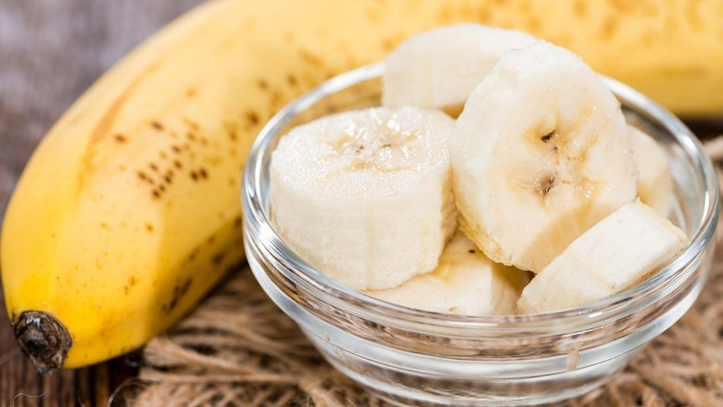 Bananas could help with restoring sexual energies.