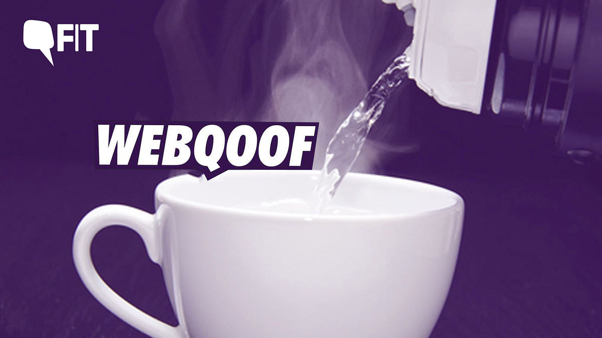 FIT WebQoof: Drinking Hot Water on an Empty Stomach Cures Cancer?